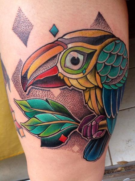 Tattoos - Toucan  - 82540