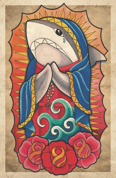 Matt Stebly - virgin mary shark