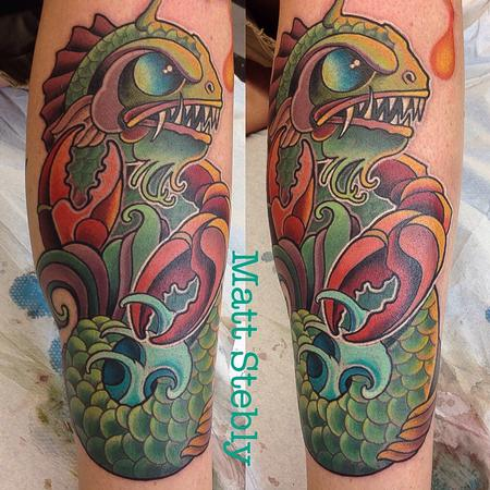 Tattoos - sea monster  - 92137