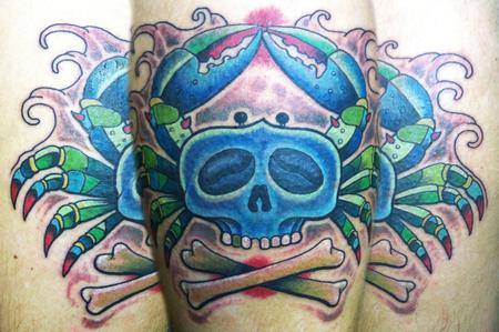 Matt Stebly - skull crab