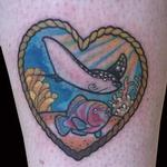 Tattoos - Sea life heart - 126790
