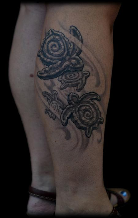 Tattoos - Hanu seaturtle tattoo  - 78519