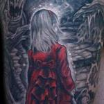 Edge of the Scary Forest  Tattoo Design Thumbnail