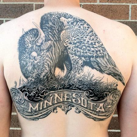 Minnesota Tattoo Tattoo Design Thumbnail