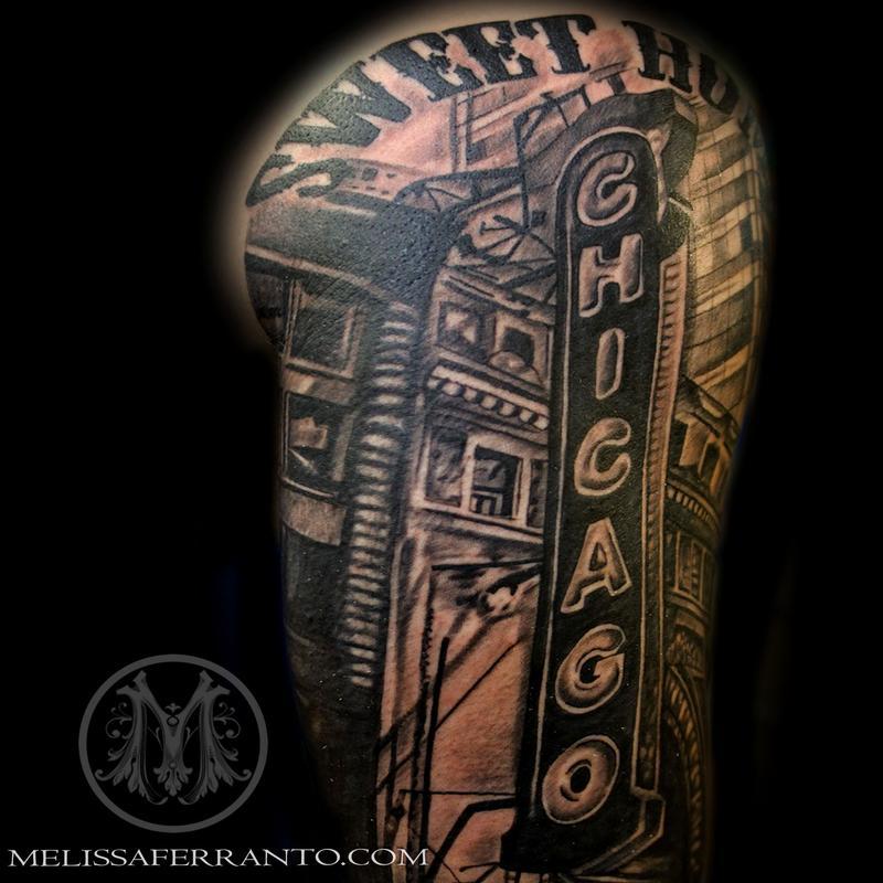 chicago tattoo by melissa ferranto tattoos