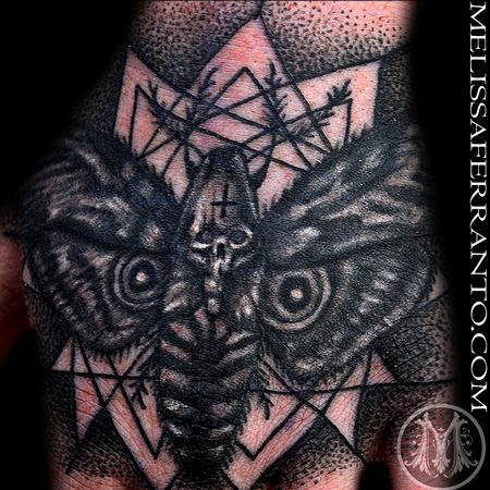 Tattoos - Death Moth Tattoo  - 104334