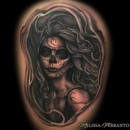 Melissa Ferranto - Day of the Dead Portrait
