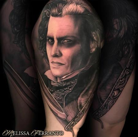 SWEENEY TODD TATTOO  Tattoo Design Thumbnail