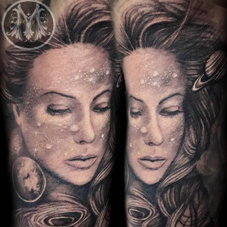 Tattoos - GALAXY WOMAN  - 124970