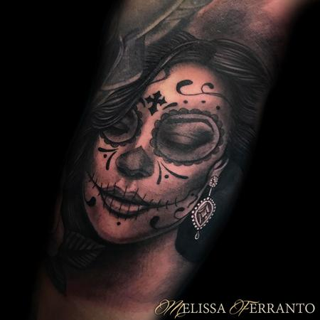 Tattoos - DAY OF THE DEAD TATTOO  - 132629