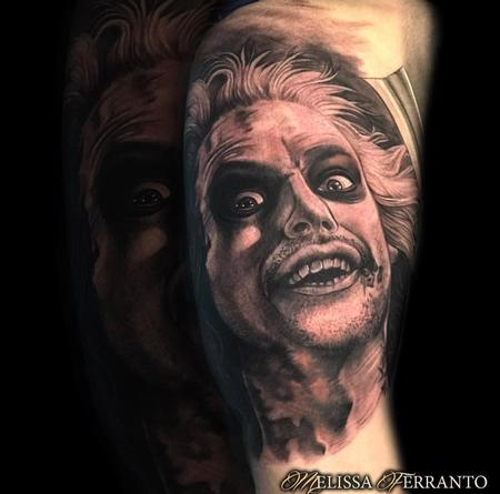 Tattoos - Beetlejuice Tattoo  - 132926