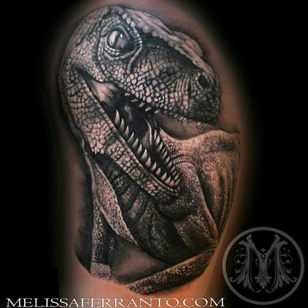 Tattoos - VELOCIRAPTOR TATTOO  - 112421