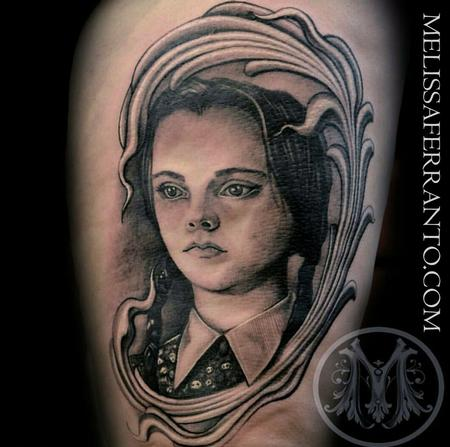 Tattoos - WEDNESDAY ADDAMS TATTOO  - 112418