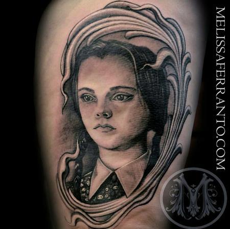 Tattoos - WEDNESDAY ADDAMS TATTOO  - 112418