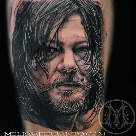 Tattoos - DARYL DIXON PORTRAIT TATTOO  - 112419