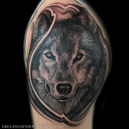 Tattoos - WOLF TATTOO  - 132628