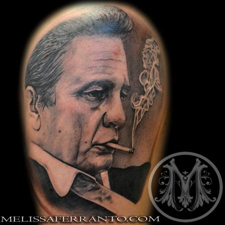 JOHNNY CASH PORTRAIT Design Thumbnail