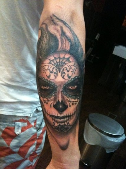 day of dead girl tattoo pictures. day of the dead girl