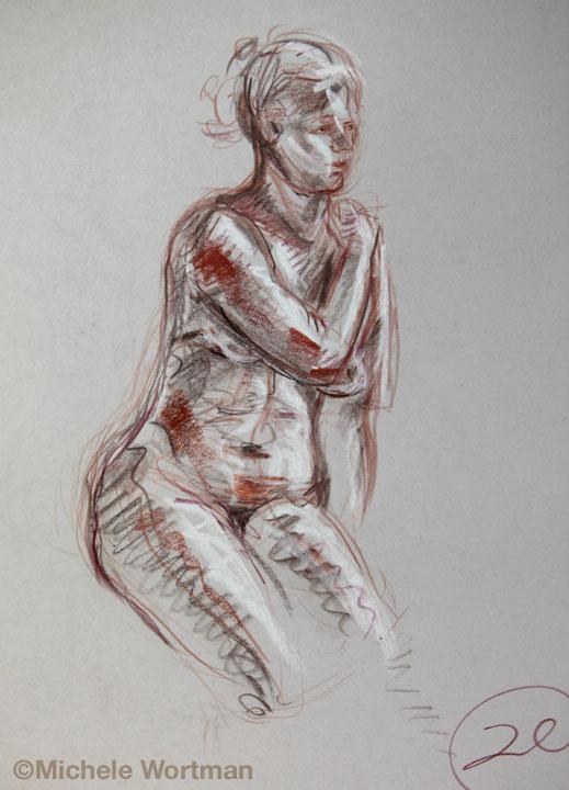 Michele Wortman - Palette&Chisel 2010  20min
