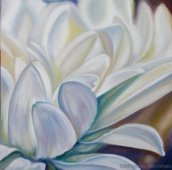 Michele Wortman - White flower 2008