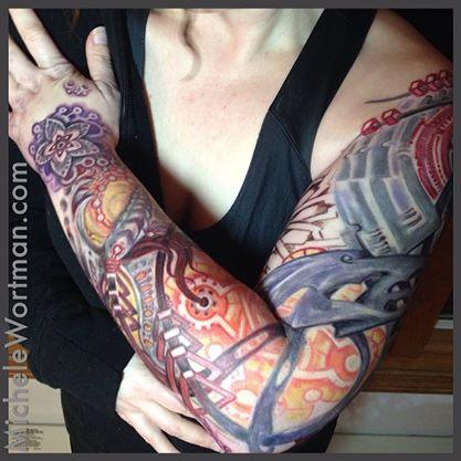 Michele Wortman - Sashas Tech-Mech bio sleeve
