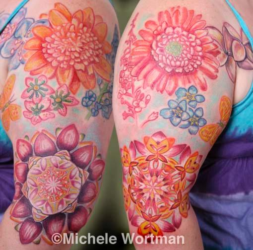 Michele Wortman - Kim daisy bodyset