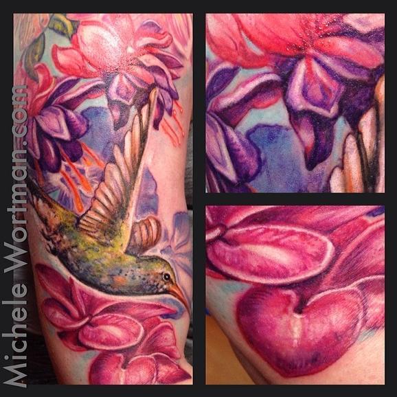 Michele Wortman - Jessicas Lush Floral garden
