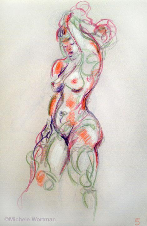 Michele Wortman - Palette&Chisel 2002 5min sketch