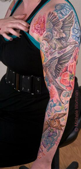 Tattoos - Casey barnswallow sleeve  - 73242
