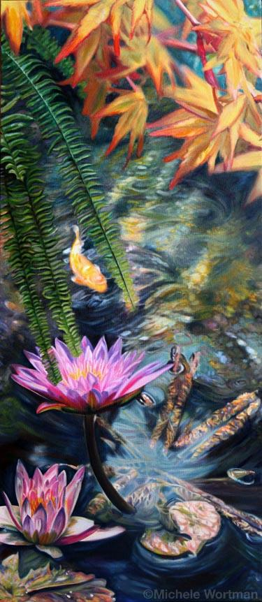 Michele Wortman - Watergarden2 2012