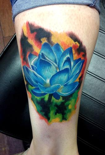 Lotus Flower Cover Up By Micle Andersson Tattoonow