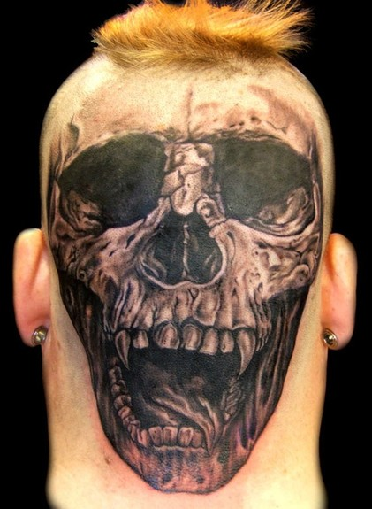 Head Skull Tattoo