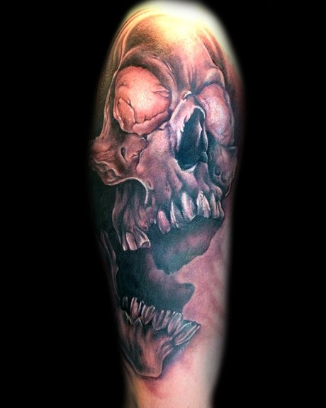 Mathew Clarke - Skull Tattoo