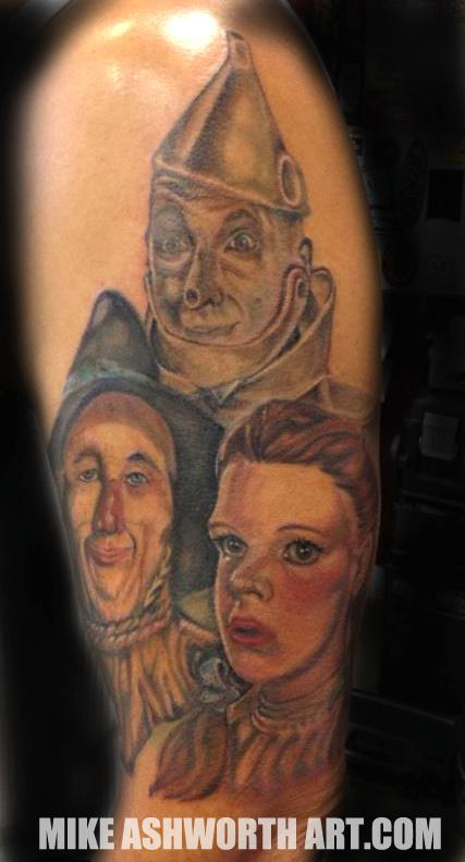 Tattoos > Page 189 > Wizard of Oz half sleeve