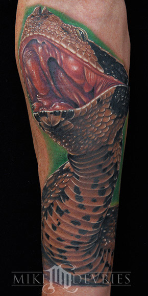 Tattoos - Gaboon Viper - 23760