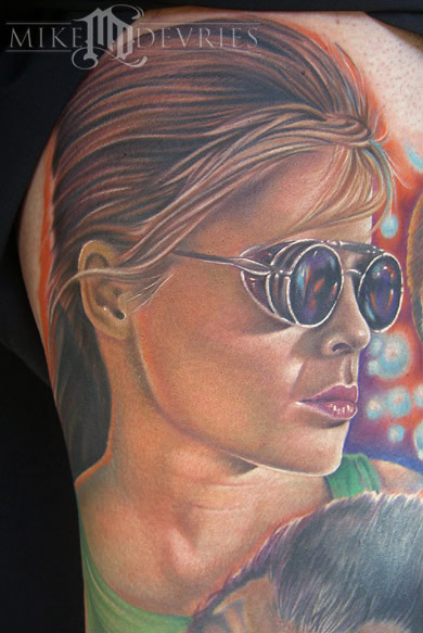 Tattoos - Sarah Connor Tattoo - 19473