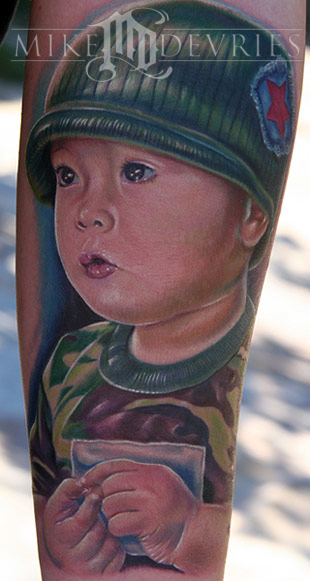 Tattoos - Son Portrait - 18294