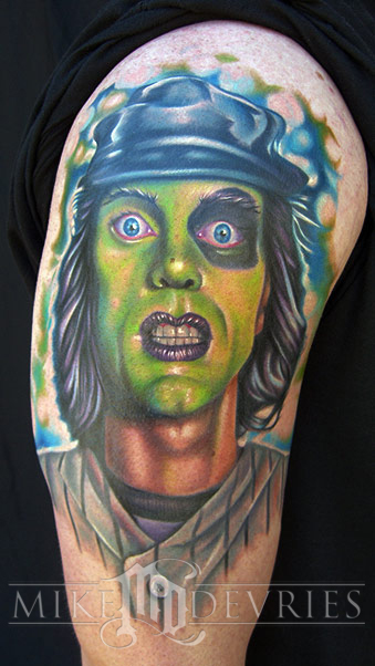 Mike DeVries - The Warriors Tattoo