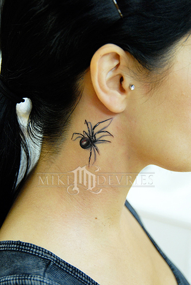 Tattoos - Black Widow Tattoo - 24663