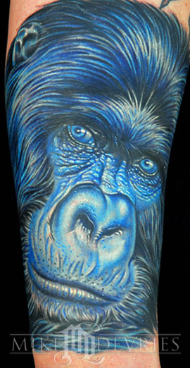 Tattoos - Mono Gorilla - 26271