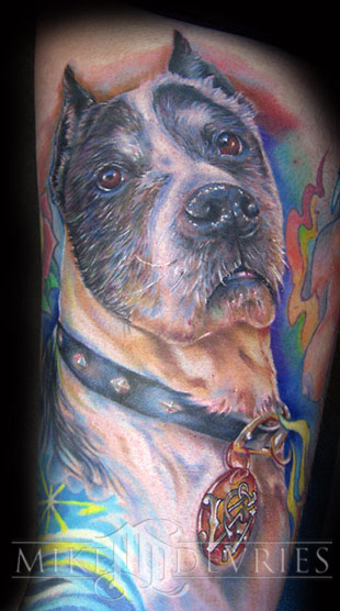 Tattoos - Bond's dog - 17573