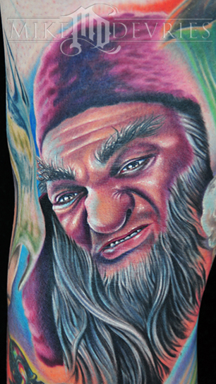 Mike DeVries - Narnia Tattoo