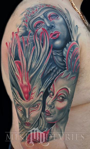 Tattoos - Cirque Du Soleil Tattoo - 32540