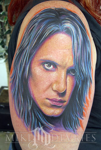 Mike DeVries - Criss Angel Tattoo