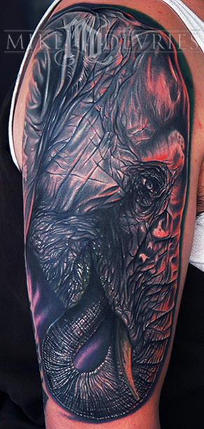 Mike DeVries - Elephant Tattoo