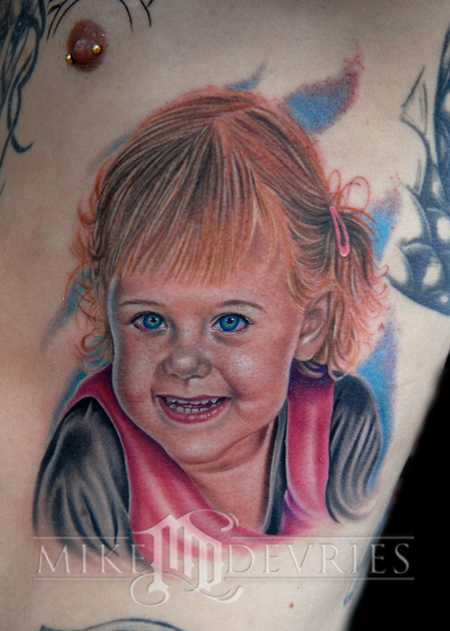 Keyword Galleries Color Tattoos Portrait Tattoos Realistic Tattoos