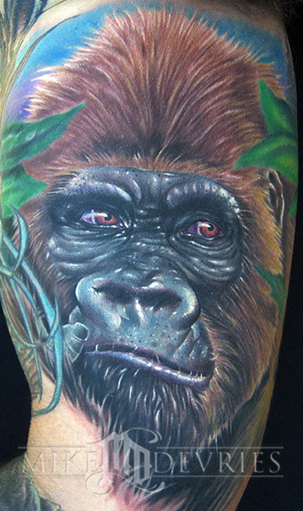 Tattoos - Gorilla Tattoo - 19538
