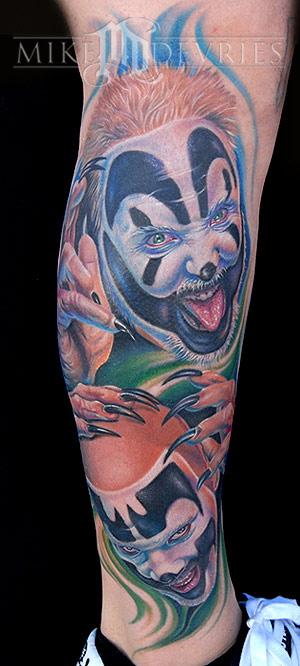Mike DeVries - ICP Tattoo