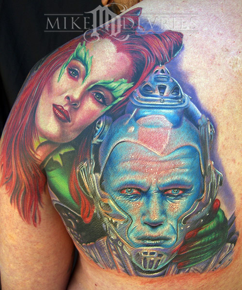 Tattoos - Ivy and Mr.Freeze - 16561