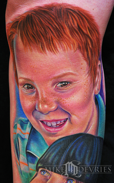 Mike DeVries - Aidan Tattoo